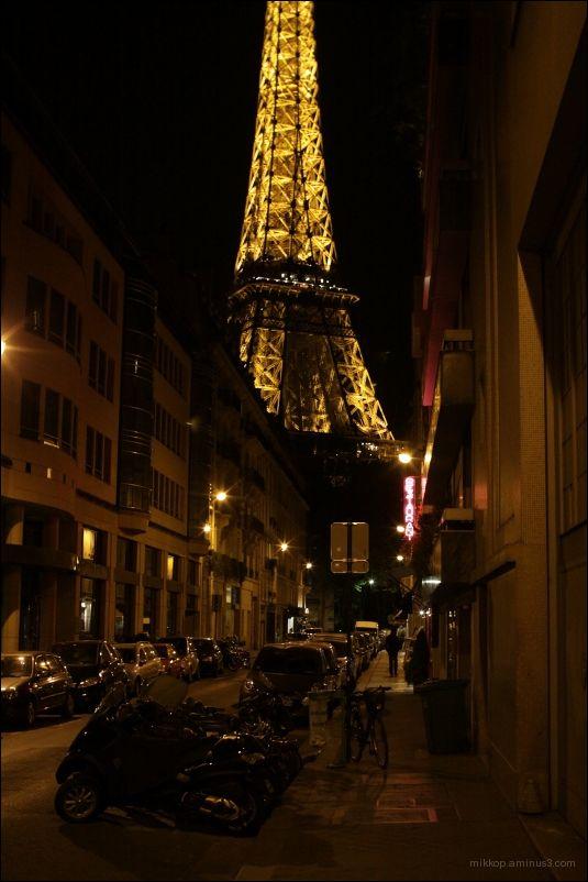 la tour dans la rue