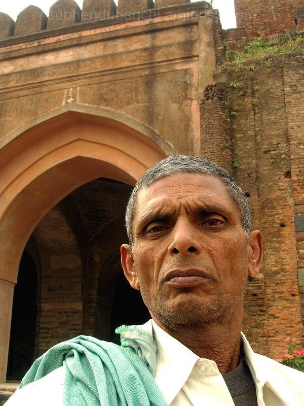 Ram Deo Singh - the caretaker