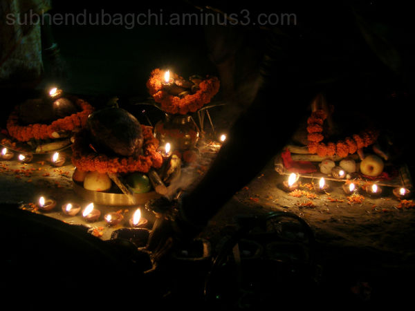 Ghat Activities Before Sunrise - Chhath Puja
