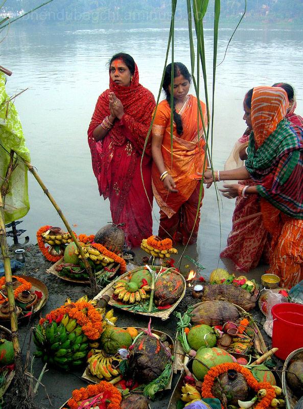 Rituals Of Chhath Puja - Berhampore.