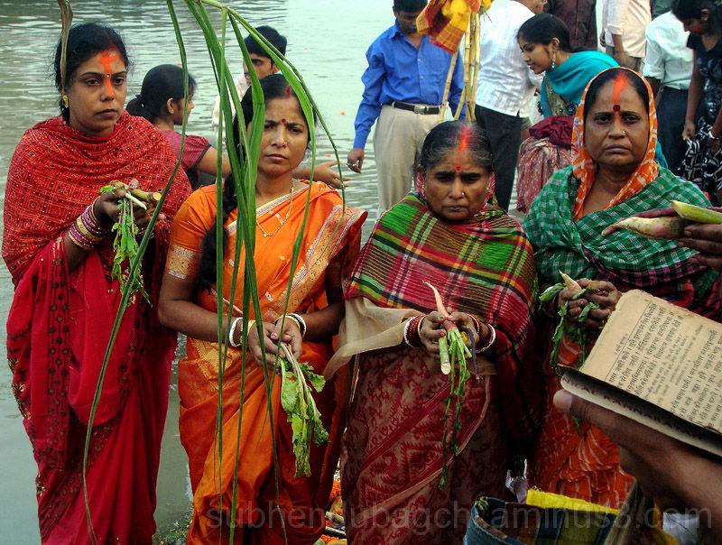 Rituals of Chhath Puja
