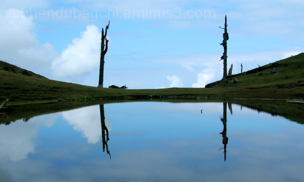 Chandra-Taal, a beautiful lake