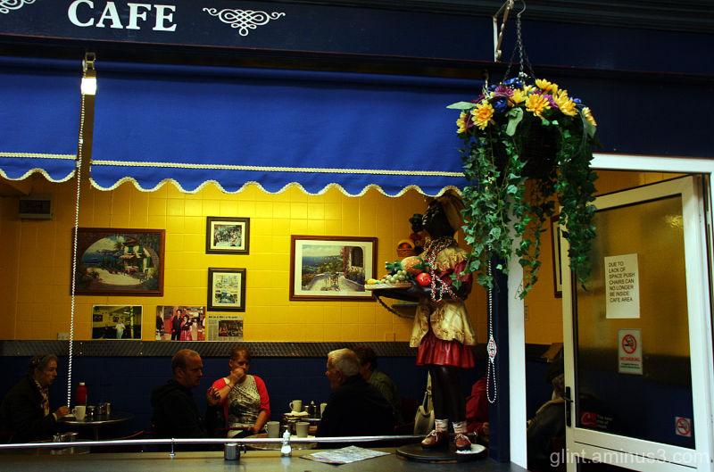 Cafe in Carlisle indoor market