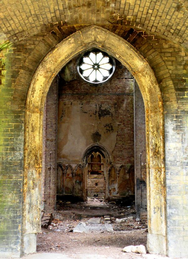 Destroyed Chapel