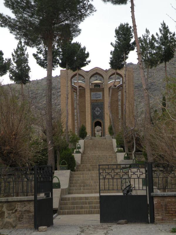 آرامگاه شاعر میر رضی الدین آرتیمانی