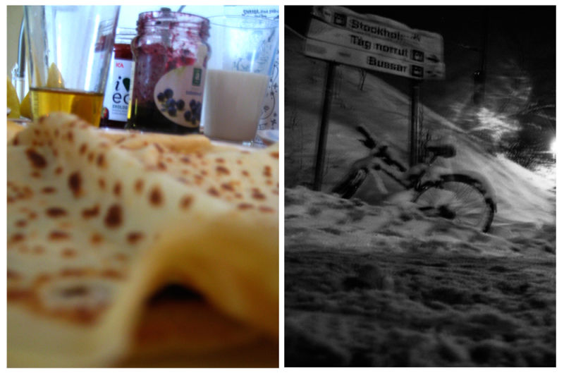 Pancakes och parties och snow och bombs!