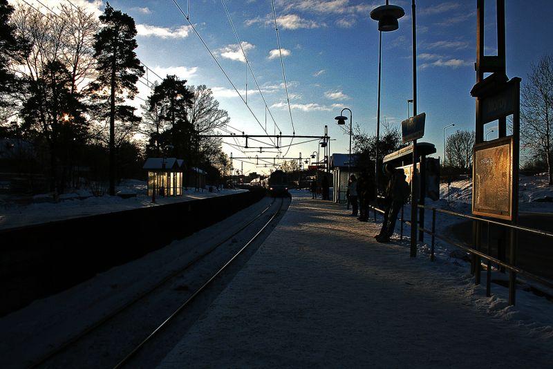 Mörby station