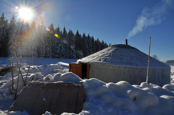 Yurt in Jeseniky :)
