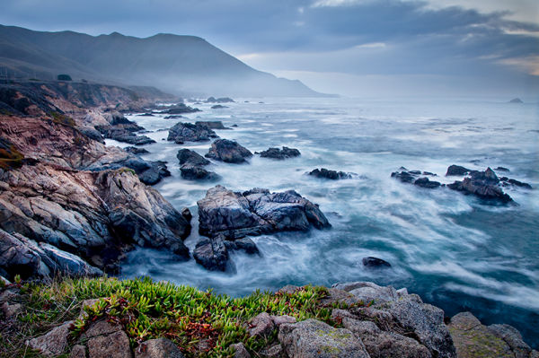 Garrapata State Park, early morning