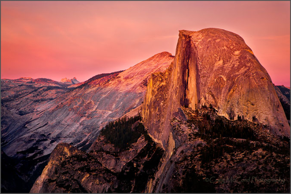 Half Dome at Glacier Point, Yosemite Nat Prk, CA