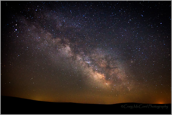 Milky Way from Flint Hills, Kansas