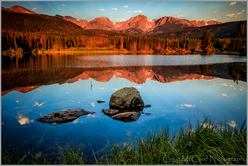 Sprague Lake Reflections, Rocky Mountain Natl Park