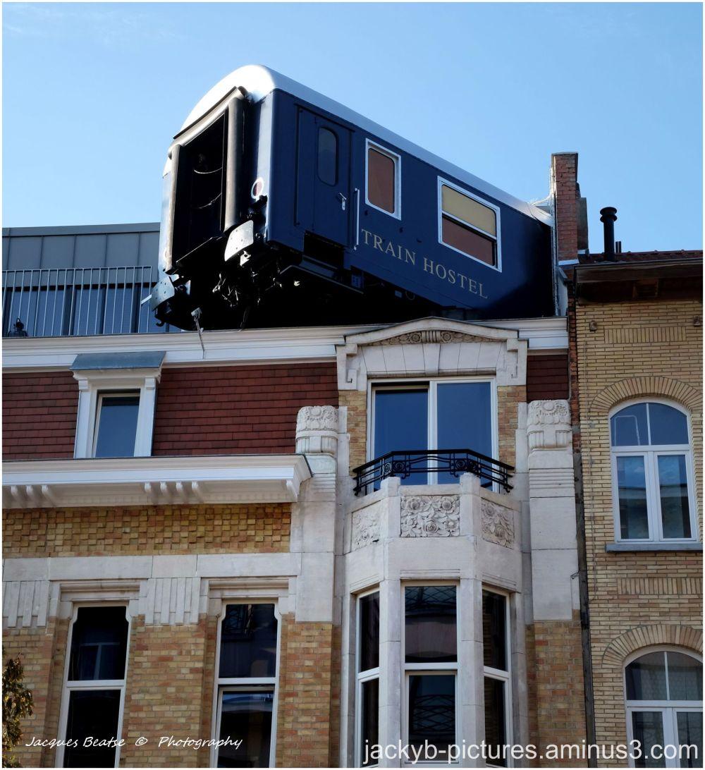 Train Hostel..