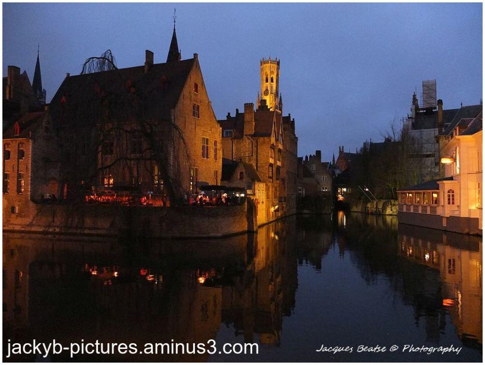 La petite Venise du Nord..Bruges ♥