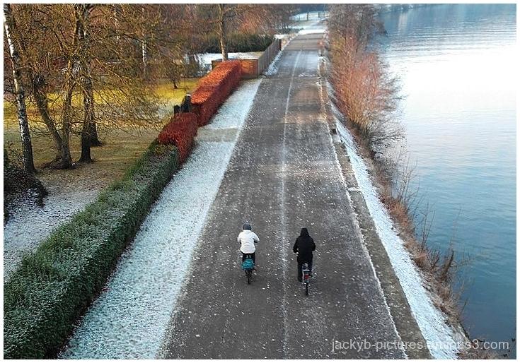 En vélo sur le chemin de halage !