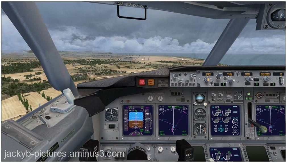 Atterrissage Aéroport de Barcelone - EL Prat