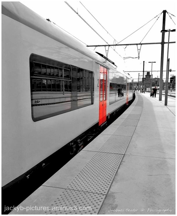 En gare..