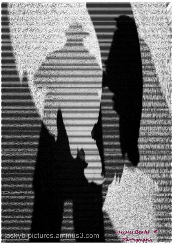 Shadows at Downtown   Des ombres sur la ville !