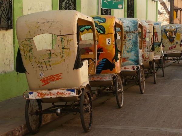 Bicytaxi in Camaguey