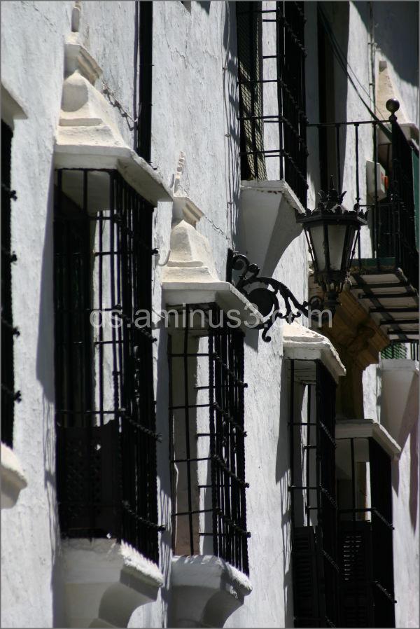 Spain Ronda windows