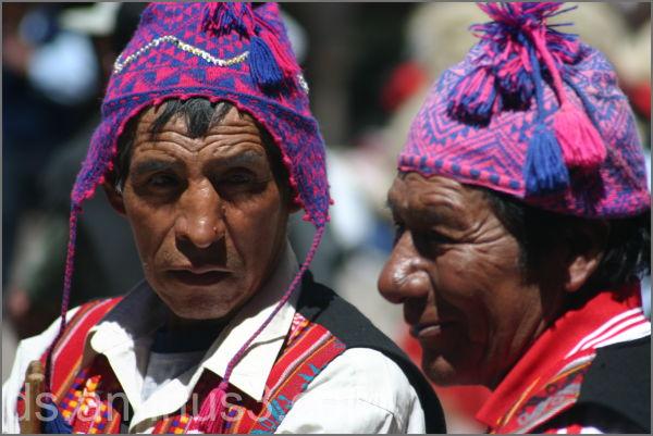August procession Cusco