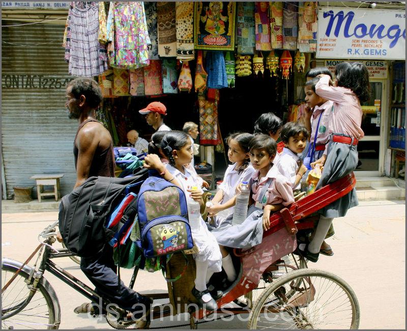 New Delhi schoolbus
