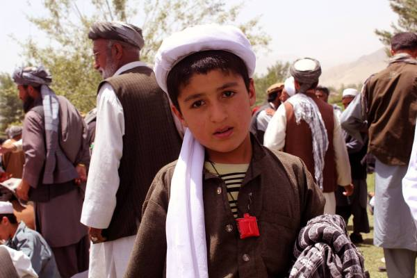 Afghanistani Children