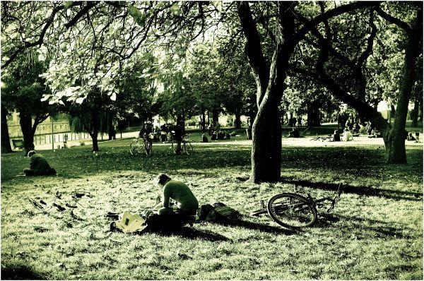 Les journées à bicyclette