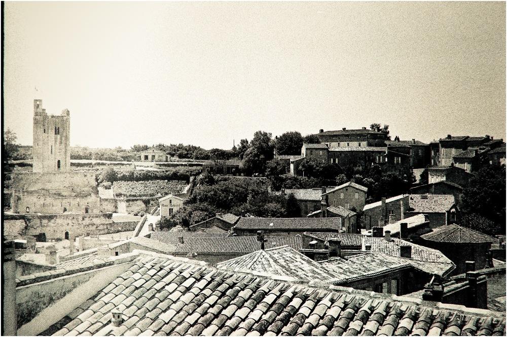 Sur les toits de Saint-Emilion