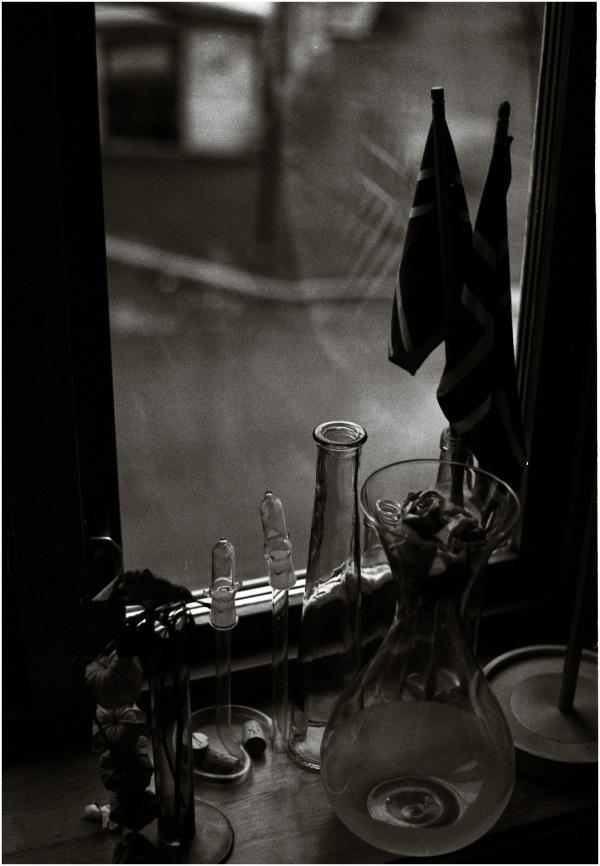 Drapeaux de verre