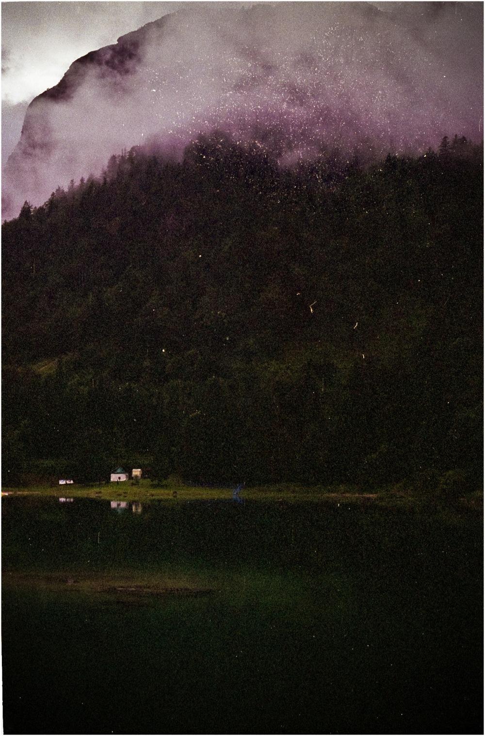 Les maisons du bas du lac
