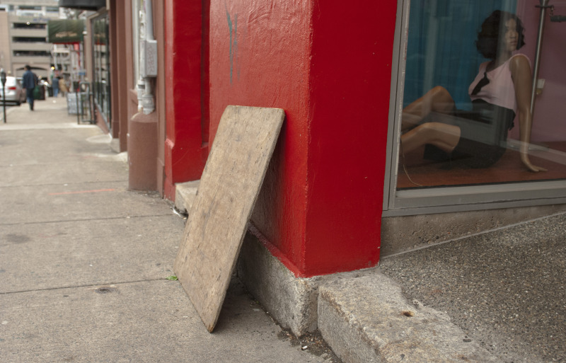 Halifax mannequin sidewalk