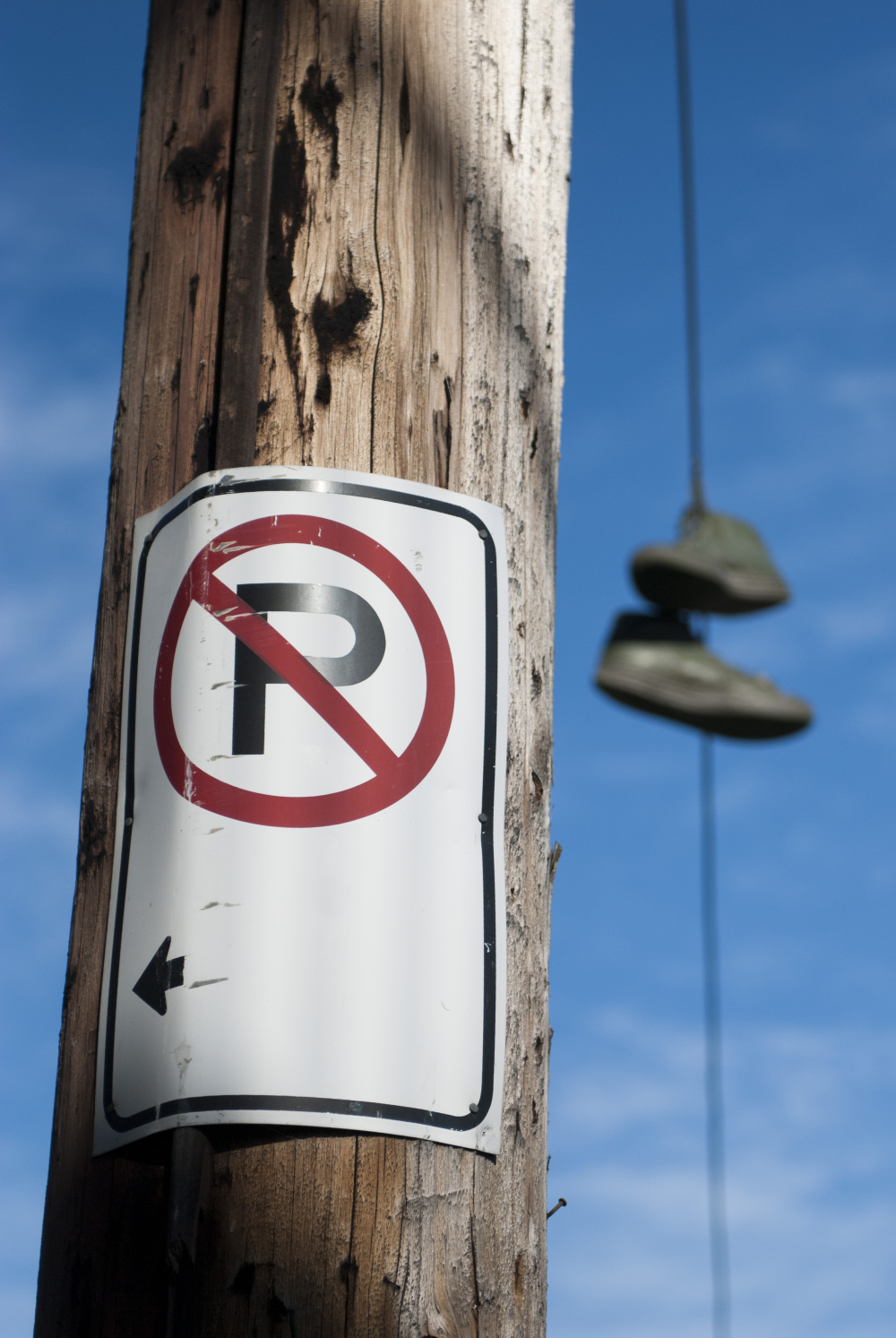 Sign and Shoes