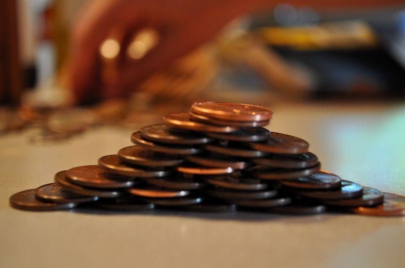 Pennies.