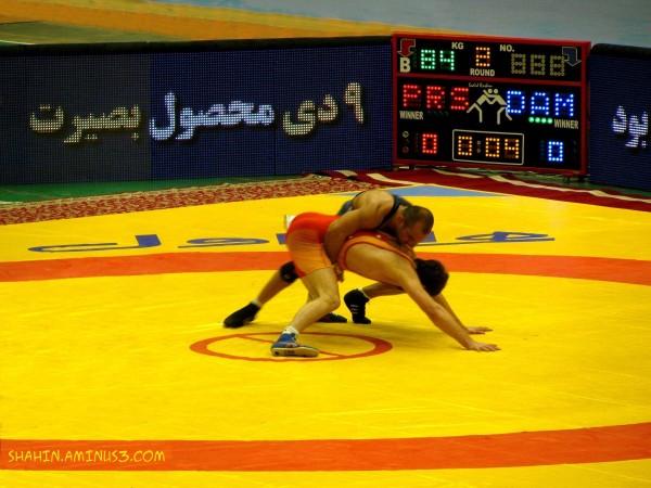 Iran Premier League Wrestling 01