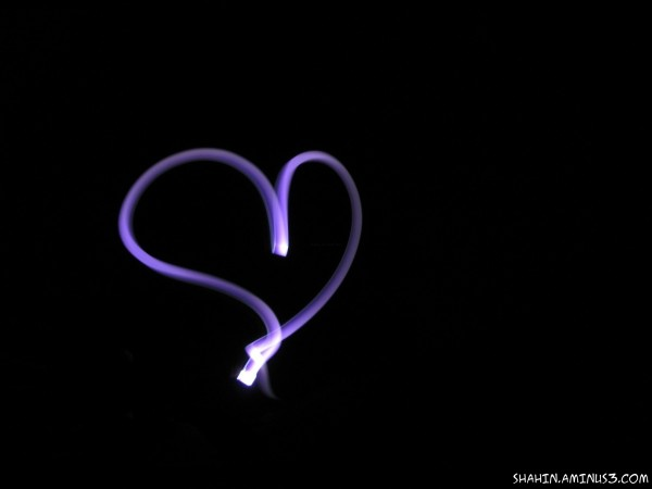 Happy Valentines Day - Painting with Lights 01