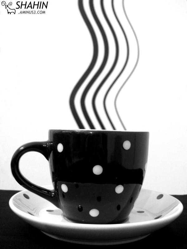 Black and White Cup 01