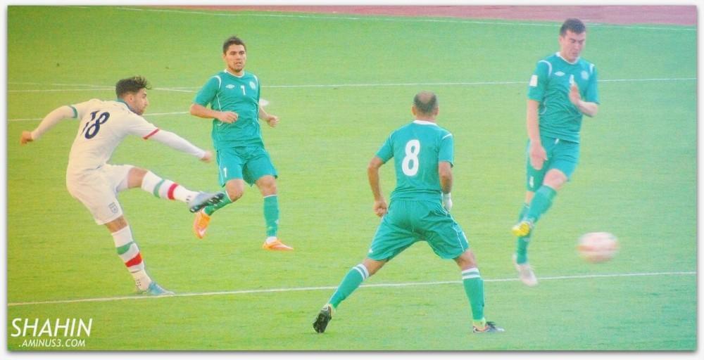 Iran 3-1 Turkmenistan 01