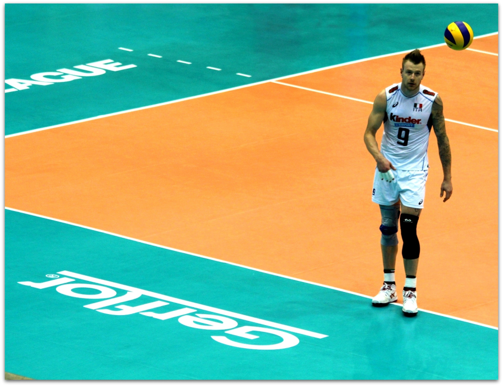2016 FIVB World League - Italy 3-1 Argentina 01