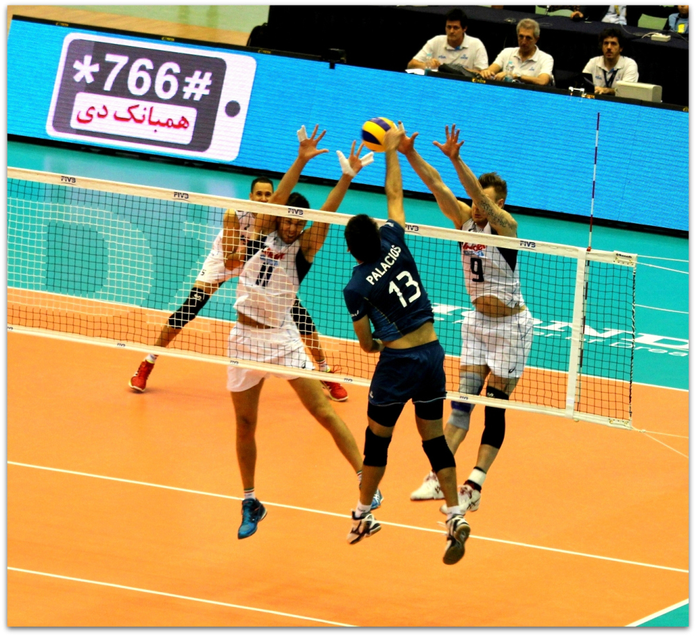2016 FIVB World League - Italy 3-1 Argentina 04