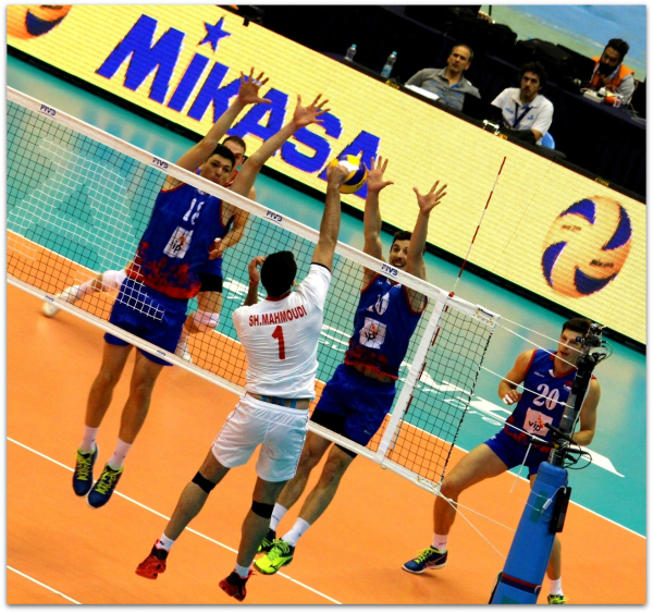 2016 FIVB World League - Iran 3-2 Serbia 06