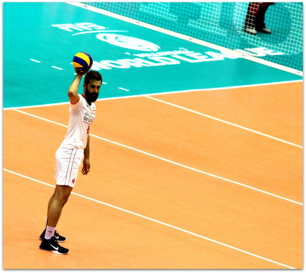 2016 FIVB World League - Iran 3-2 Serbia 07