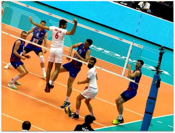 2016 FIVB World League - Iran 3-2 Serbia 08