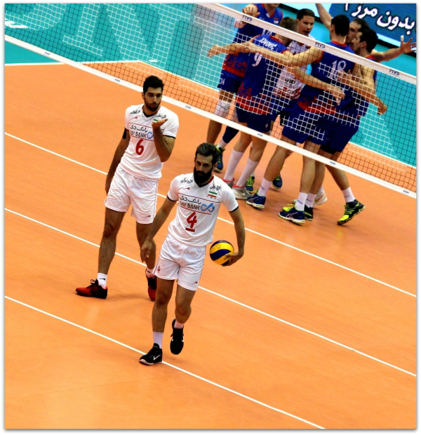 2016 FIVB World League - Iran 3-2 Serbia 02