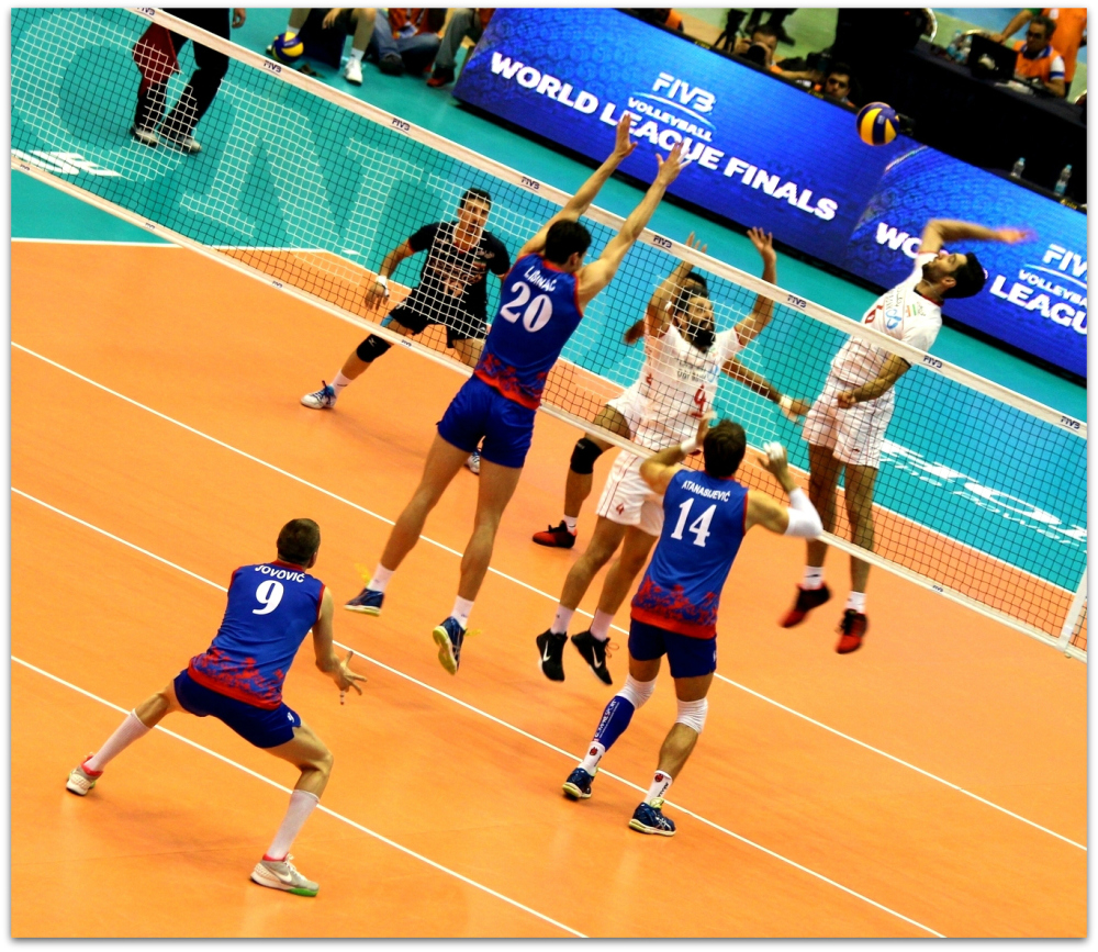 2016 FIVB World League - Iran 3-2 Serbia 12