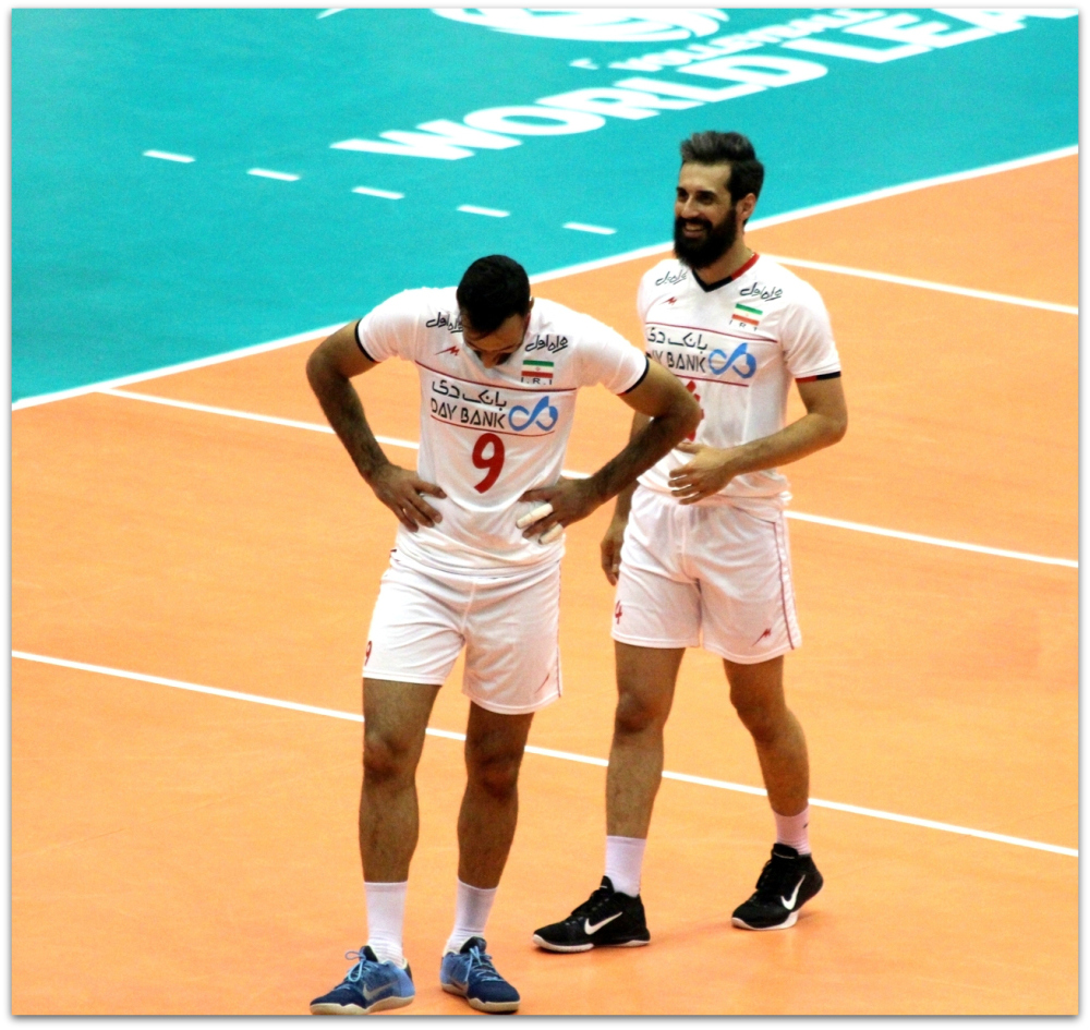 2016 FIVB World League - Iran 3-2 Serbia 13
