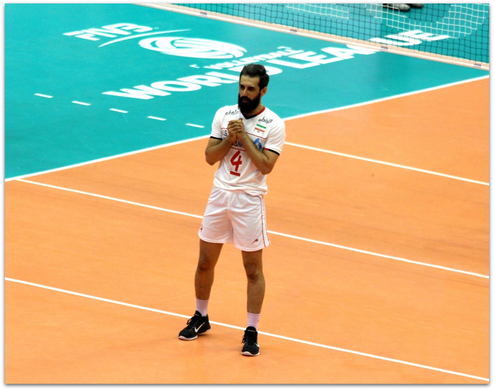2016 FIVB World League - Iran 3-2 Serbia 14