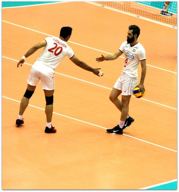 2016 FIVB World League - Iran 3-2 Serbia 15