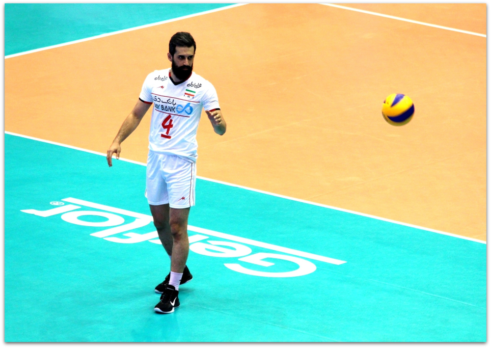 2016 FIVB World League - Iran 3-2 Serbia 16