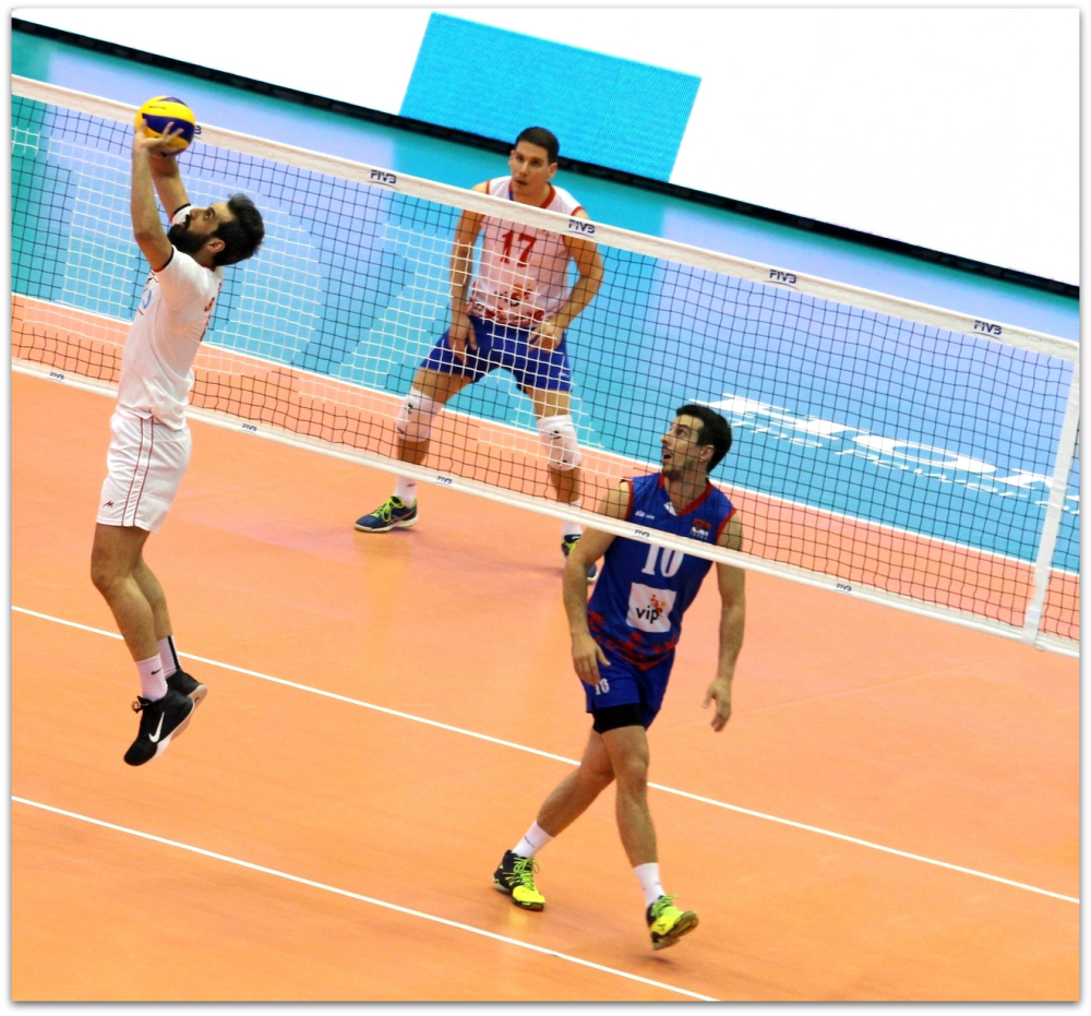 2016 FIVB World League - Iran 3-2 Serbia 17